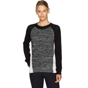 BB Dakota Flynne Colorblock Crewneck Sweater